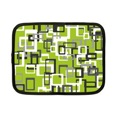 Pattern Abstract Form Four Corner Netbook Case (small)