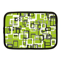 Pattern Abstract Form Four Corner Netbook Case (medium)