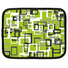 Pattern Abstract Form Four Corner Netbook Case (xl)