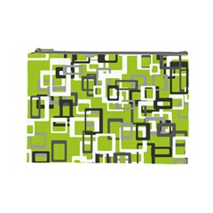 Pattern Abstract Form Four Corner Cosmetic Bag (large)