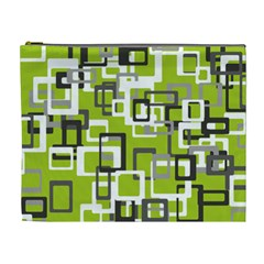Pattern Abstract Form Four Corner Cosmetic Bag (XL)