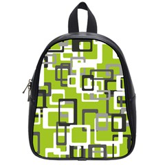 Pattern Abstract Form Four Corner School Bags (small)