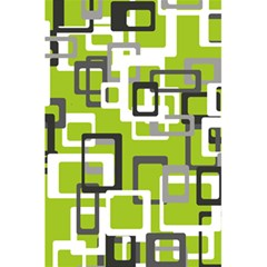 Pattern Abstract Form Four Corner 5 5  X 8 5  Notebooks