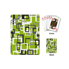 Pattern Abstract Form Four Corner Playing Cards (mini)