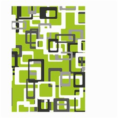 Pattern Abstract Form Four Corner Small Garden Flag (two Sides)