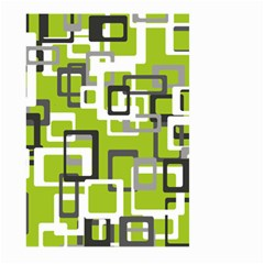 Pattern Abstract Form Four Corner Large Garden Flag (two Sides)