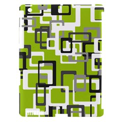 Pattern Abstract Form Four Corner Apple Ipad 3/4 Hardshell Case (compatible With Smart Cover)