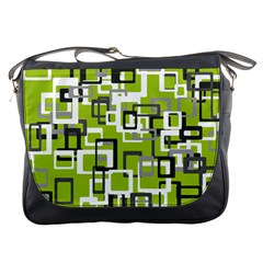 Pattern Abstract Form Four Corner Messenger Bags
