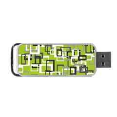 Pattern Abstract Form Four Corner Portable Usb Flash (one Side)