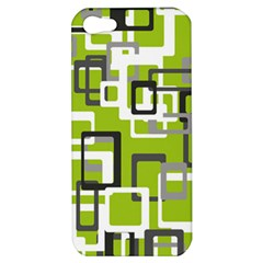 Pattern Abstract Form Four Corner Apple Iphone 5 Hardshell Case