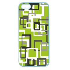 Pattern Abstract Form Four Corner Apple Seamless Iphone 5 Case (color)
