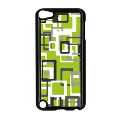 Pattern Abstract Form Four Corner Apple Ipod Touch 5 Case (black)