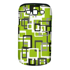 Pattern Abstract Form Four Corner Samsung Galaxy S Iii Classic Hardshell Case (pc+silicone)
