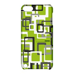 Pattern Abstract Form Four Corner Apple Ipod Touch 5 Hardshell Case With Stand