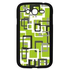 Pattern Abstract Form Four Corner Samsung Galaxy Grand DUOS I9082 Case (Black)