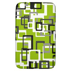 Pattern Abstract Form Four Corner Samsung Galaxy Tab 3 (8 ) T3100 Hardshell Case