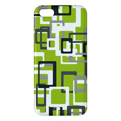 Pattern Abstract Form Four Corner Iphone 5s/ Se Premium Hardshell Case