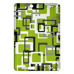 Pattern Abstract Form Four Corner Amazon Kindle Fire HD (2013) Hardshell Case
