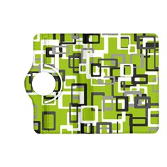 Pattern Abstract Form Four Corner Kindle Fire HD (2013) Flip 360 Case