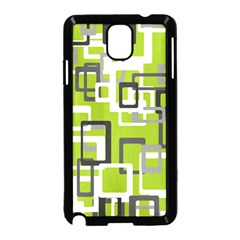 Pattern Abstract Form Four Corner Samsung Galaxy Note 3 Neo Hardshell Case (Black)
