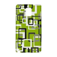 Pattern Abstract Form Four Corner Samsung Galaxy Note 4 Hardshell Case