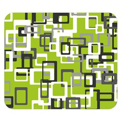 Pattern Abstract Form Four Corner Double Sided Flano Blanket (Small)