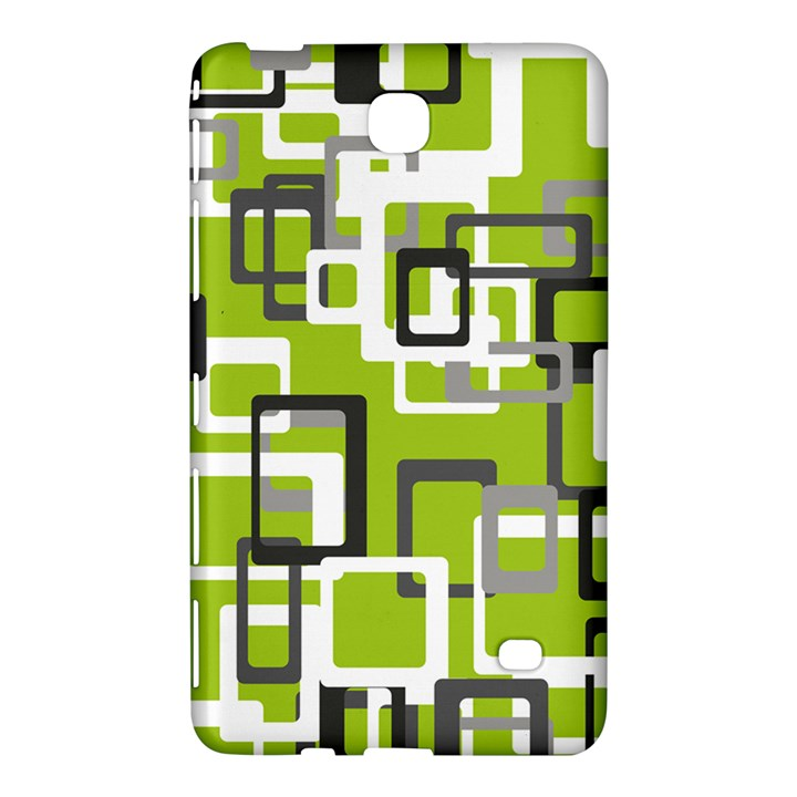 Pattern Abstract Form Four Corner Samsung Galaxy Tab 4 (7 ) Hardshell Case