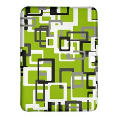 Pattern Abstract Form Four Corner Samsung Galaxy Tab 4 (10 1 ) Hardshell Case