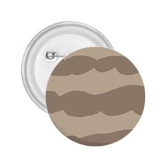 Pattern Wave Beige Brown 2.25  Buttons