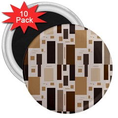 Pattern Wallpaper Patterns Abstract 3  Magnets (10 Pack)