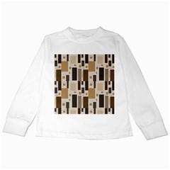 Pattern Wallpaper Patterns Abstract Kids Long Sleeve T-Shirts