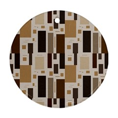 Pattern Wallpaper Patterns Abstract Round Ornament (Two Sides)