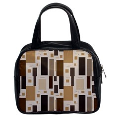 Pattern Wallpaper Patterns Abstract Classic Handbags (2 Sides)