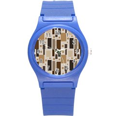 Pattern Wallpaper Patterns Abstract Round Plastic Sport Watch (s)