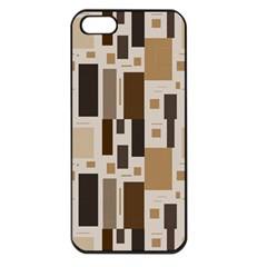 Pattern Wallpaper Patterns Abstract Apple Iphone 5 Seamless Case (black)