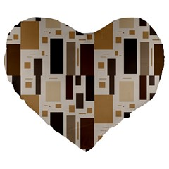 Pattern Wallpaper Patterns Abstract Large 19  Premium Heart Shape Cushions