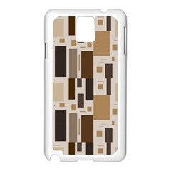Pattern Wallpaper Patterns Abstract Samsung Galaxy Note 3 N9005 Case (white)