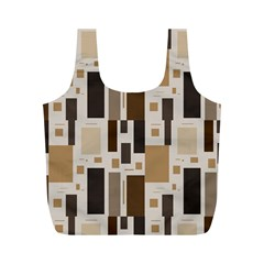 Pattern Wallpaper Patterns Abstract Full Print Recycle Bags (M)
