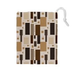 Pattern Wallpaper Patterns Abstract Drawstring Pouches (large)