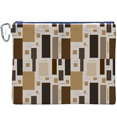 Pattern Wallpaper Patterns Abstract Canvas Cosmetic Bag (xxxl)