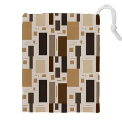 Pattern Wallpaper Patterns Abstract Drawstring Pouches (XXL)