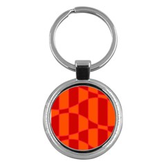 Background Texture Pattern Colorful Key Chains (Round)