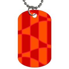 Background Texture Pattern Colorful Dog Tag (two Sides)