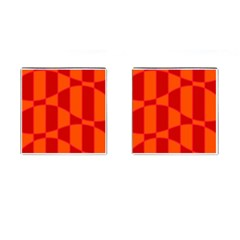 Background Texture Pattern Colorful Cufflinks (Square)