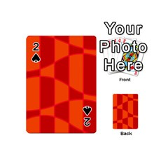 Background Texture Pattern Colorful Playing Cards 54 (mini)