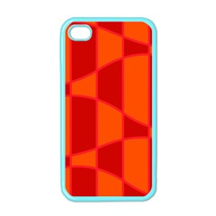 Background Texture Pattern Colorful Apple iPhone 4 Case (Color)