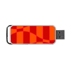 Background Texture Pattern Colorful Portable Usb Flash (one Side)