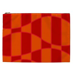 Background Texture Pattern Colorful Cosmetic Bag (XXL)
