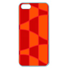 Background Texture Pattern Colorful Apple Seamless iPhone 5 Case (Color)