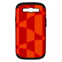 Background Texture Pattern Colorful Samsung Galaxy S III Hardshell Case (PC+Silicone)